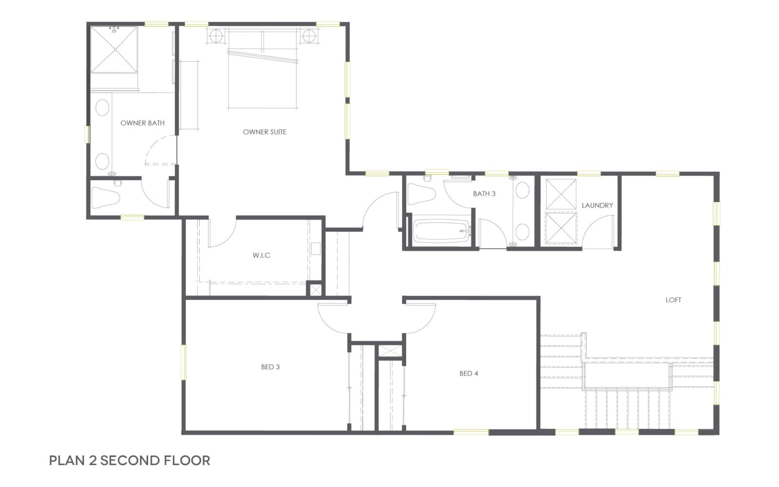 Plan 2 Second Floor